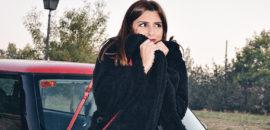 Protégete del frío con el abrigo peluche