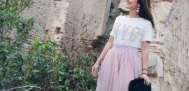 Falda tutú rosa: elemento indispensable