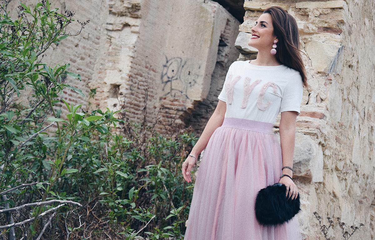 081e3c8c9 Falda tutú rosa: elemento indispensable - Blog de Mariquita Trasquila