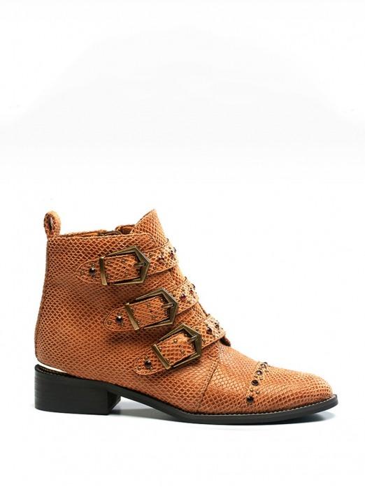 Botines Hebillas, botines cuero, botines baratos, Mariquita Trasquilá