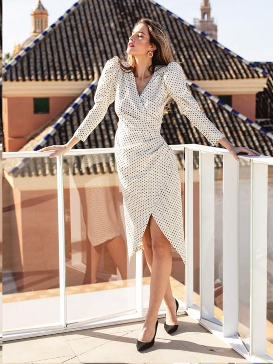 Vestido Alejandra B.M., Invitada Perfecta, Vestido Boda, Vestido Dama de Honor, Mariquita Trasquilá