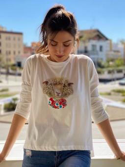 Camiseta Bohol Compañía Fantástica, Camiseta Mujer, Camiseta Barata, Mariquita Trasquilá