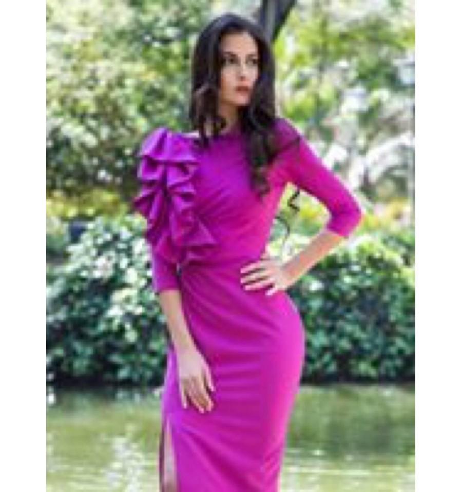 Lujo 80 Rosa Vestido De Fiesta Regalo - Colección de Vestidos de ...