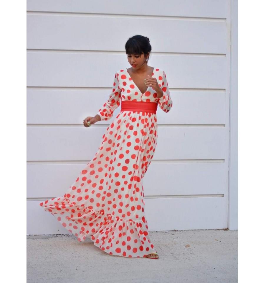 Vestido de Fiesta Largo Maggie - Invitada de noche - Invitada Perfecta