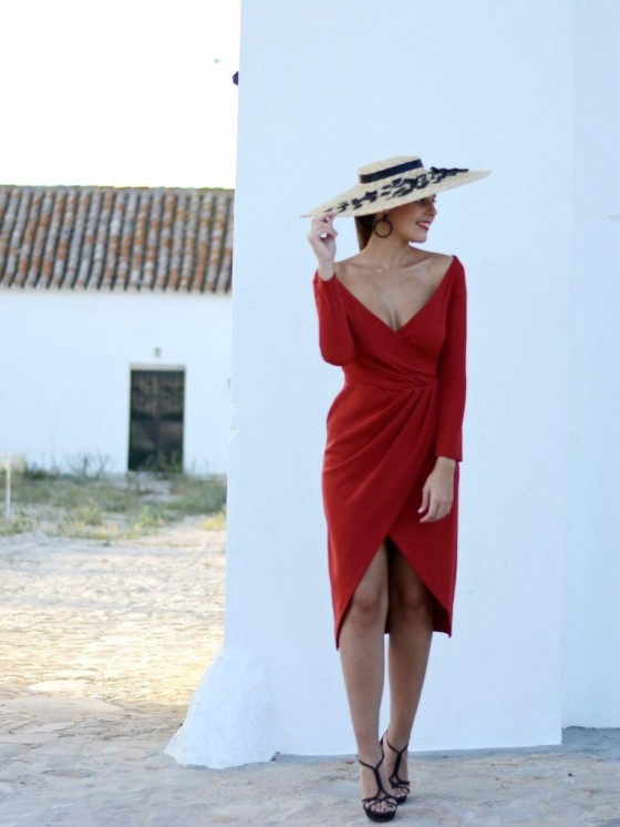 Vestido Joselina, vestido de fiesta, invitada Perfecta