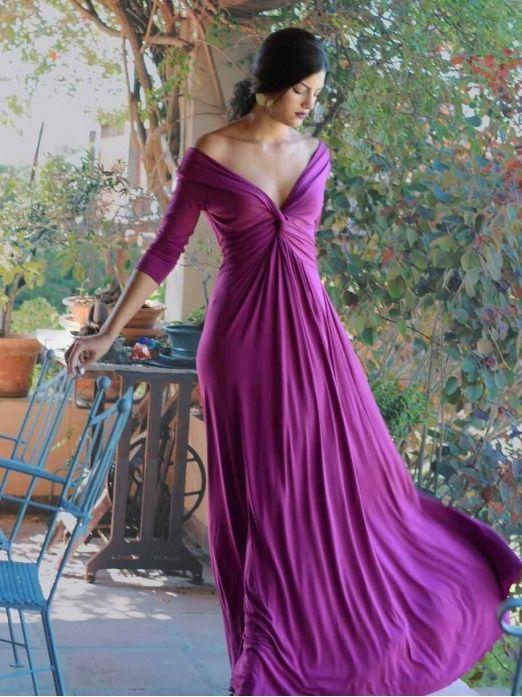 Vestido Adriana , vestido de fiesta largo, buganvilla, Mariquita Trasquilá