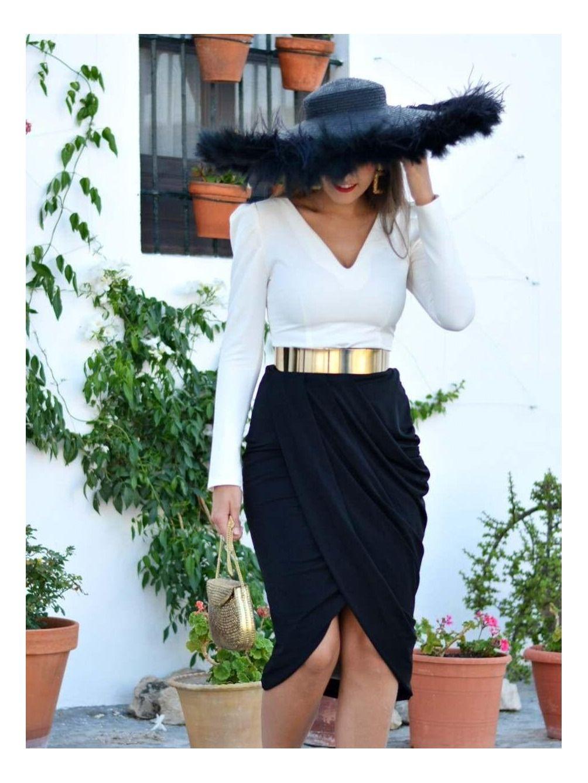Blusa de fiesta Madame, invitada Perfecta, top blanco,  tienda de ropa de fiesta, Mariquita Trasquilá