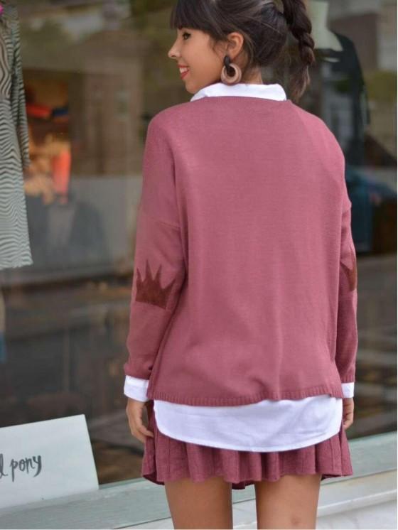 Conjunto Queen de lana rosa, casual chic, tienda low cost