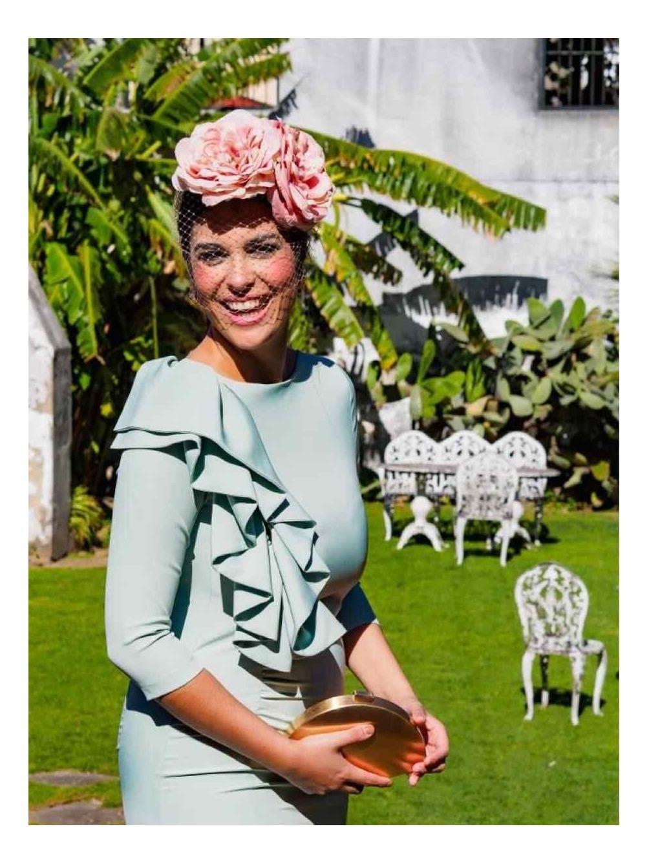 Tocado Flores - Tocado para bodas - complementos para bodas - Mariquita Trasquilá