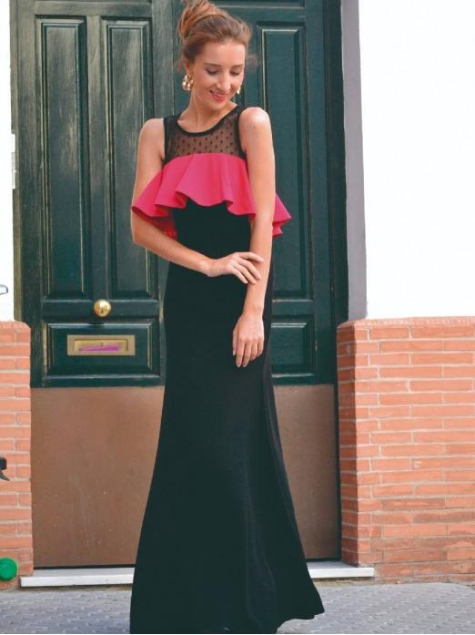 Vestido Hera, vestido de fiesta, vestido largo, Mariquita Trasquila