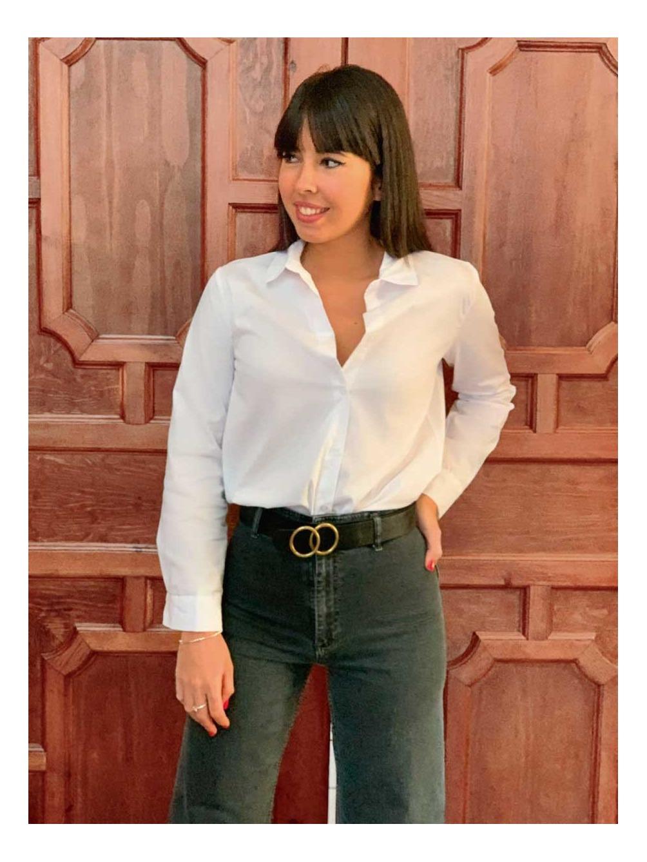 Camisa Básica, camisa blanca, camisa barata, Mariquita Trasquilá