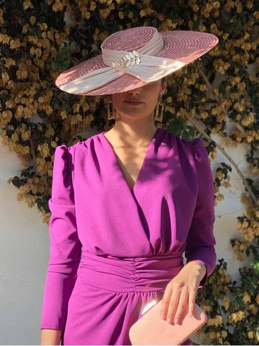 Pamela Hojas, invitada perfecta, complementos para bodas, Mariquita Trasquilá