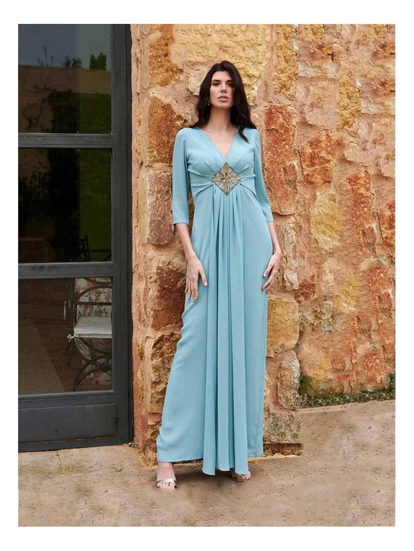 Vestido Largo Nadia, invitada perfecta, vestido de noche, Mariquita Trasquilá