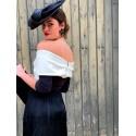 Vestido Flecos de Blanca, tienda online de vestidos de fiesta, Mariquita Trasquilá
