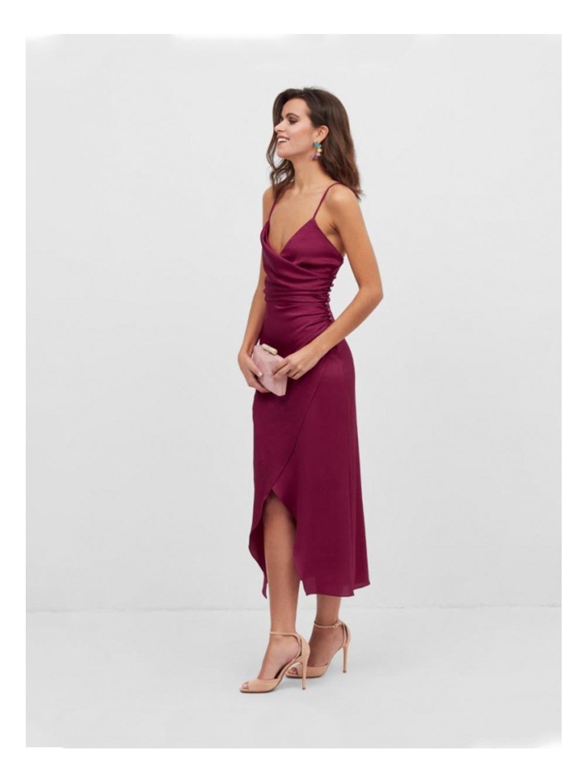 Vestido de Fiesta Midi Sasha, vestidos cortos, tienda online de vestidos de fiesta, Mariquita Trasquilá