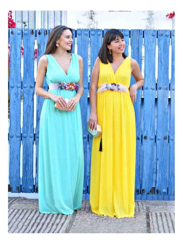 Vestido Marina, vestido largo, vestido dama de honor, vestido para graduaciones, invitada