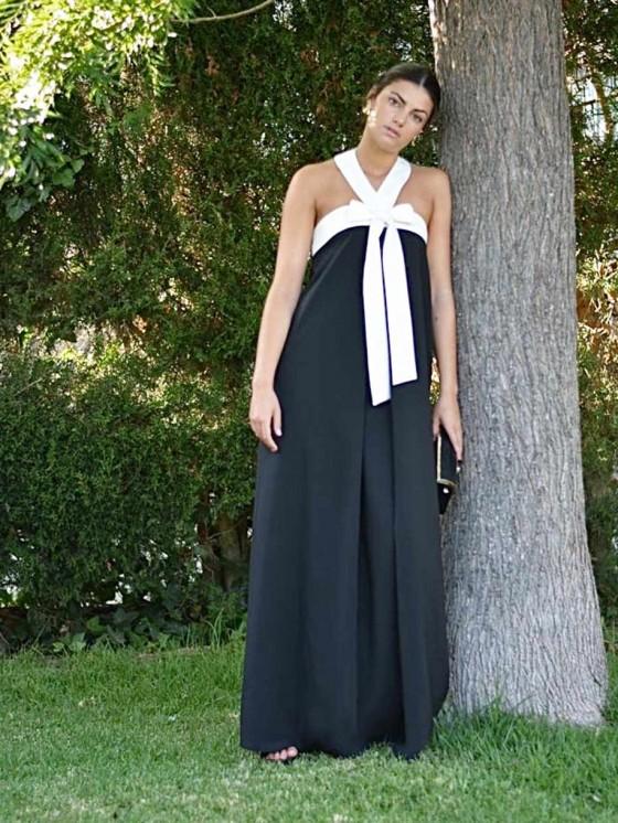 Vestido Largo Nuria M.T., vestido de fiesta, vestido invitada boda, Mariquita Trasquilá