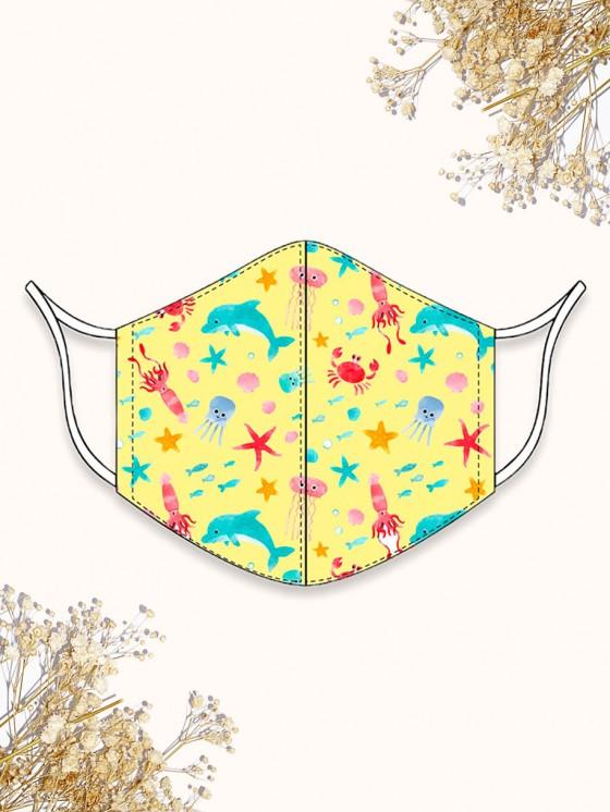 Mascarilla Infantil Mariposas, mascarillas para niños, mascarillas de verano, Mariquita Trasquilá