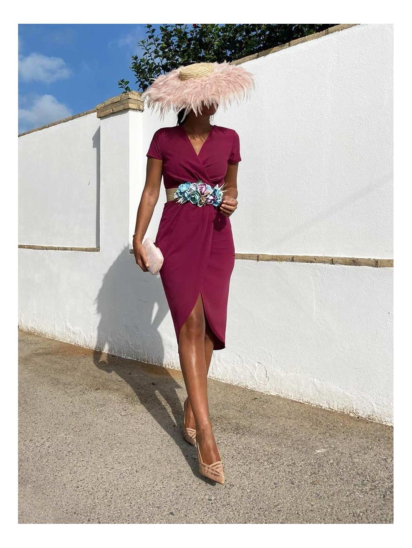 Vestido Nini, vestido de fiesta midi, invitada perfecta, Mariquita Trasquilá