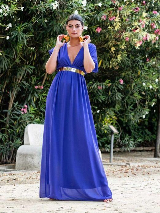 Vestido largo de fiesta, vestido barato, invitada perfecta, Mariquita Trasquilá