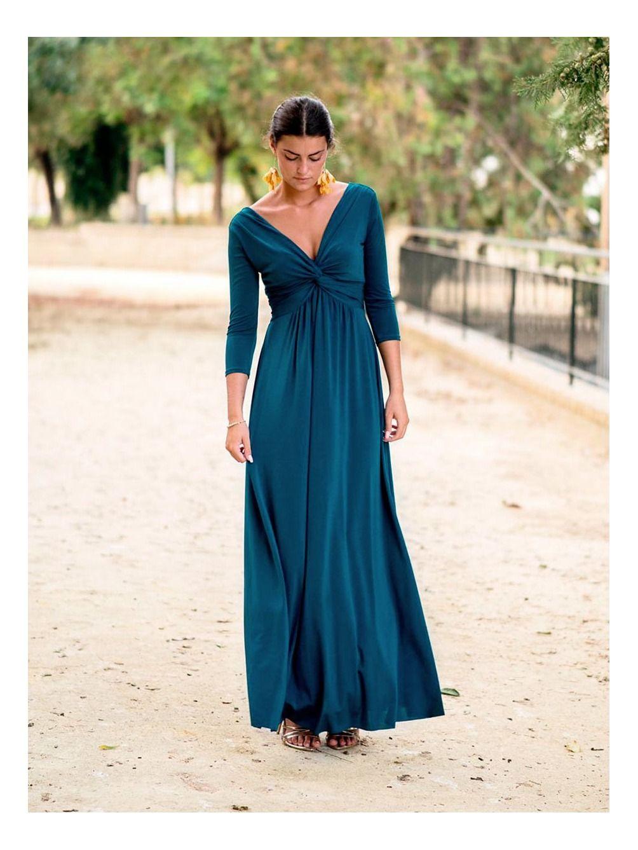 Vestido Adriana Autumn, vestido de fiesta, vestido largo, Mariquita Trasquilá