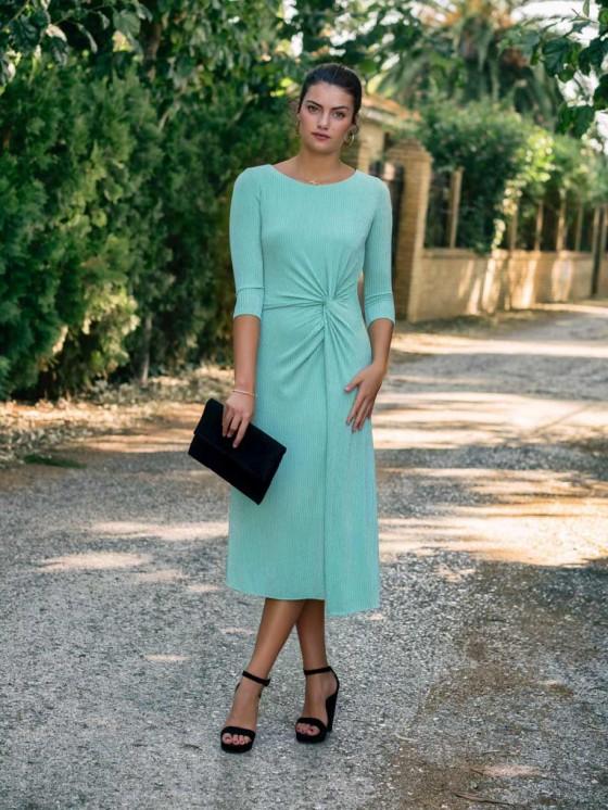 Vestido Midi Alejandra, tienda online de vestidos de fiesta, invitada perfecta, Mariquita Trasquilá