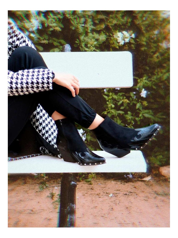 Botines Cowboy, botines tacón, botas cowboy, Mariquita Trasquilá