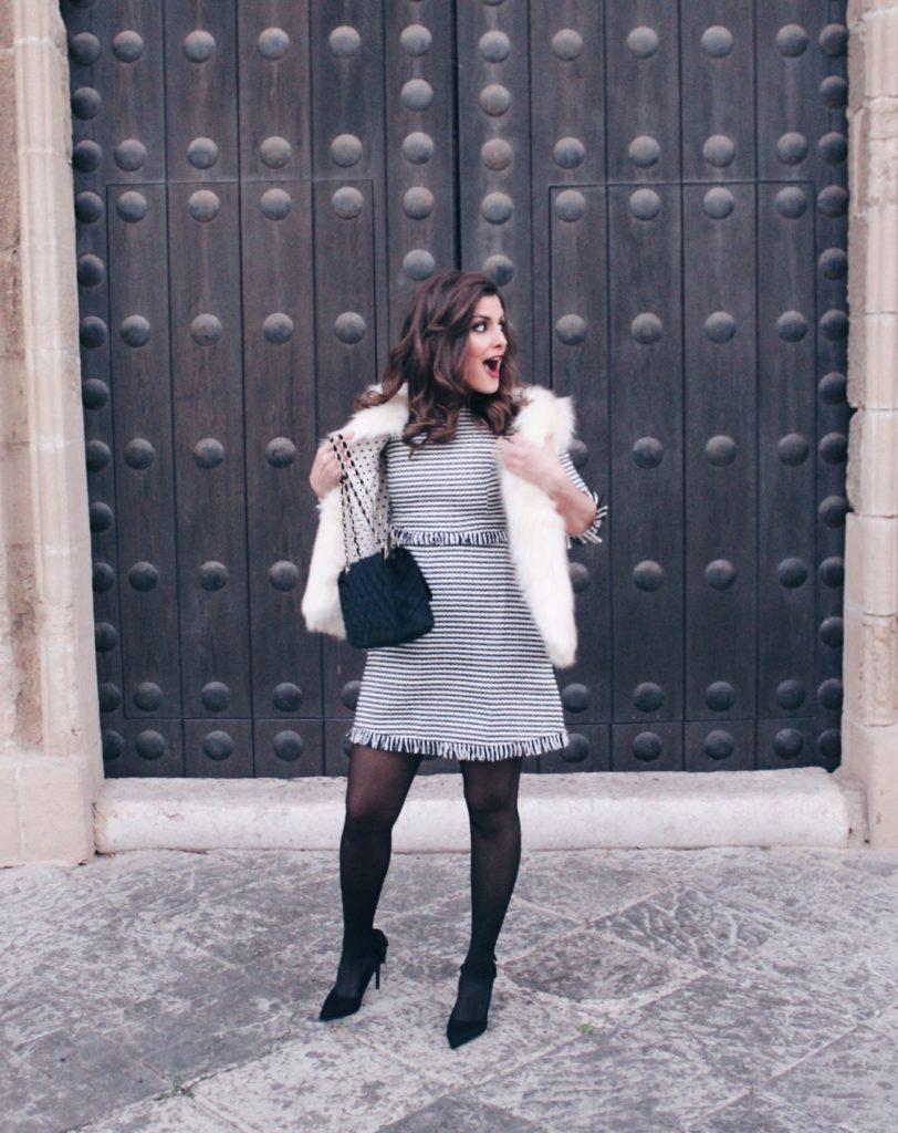 Look vestido clásico